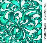 silk texture fluid shapes ... | Shutterstock .eps vector #1198208758