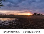 rural landscape scene of...   Shutterstock . vector #1198212445