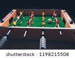 table football soccer kicker... | Shutterstock . vector #1198215508