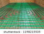 underfloor heating green... | Shutterstock . vector #1198215535