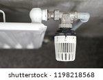 heating radiator detail in a...   Shutterstock . vector #1198218568