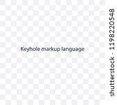 keyhole markup language... | Shutterstock .eps vector #1198220548