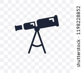 boat telescope transparent icon.... | Shutterstock .eps vector #1198228852
