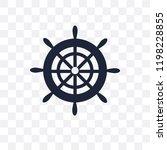 boat steering wheel transparent ...   Shutterstock .eps vector #1198228855