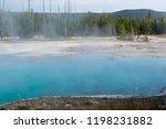 west thumb geyser basin in...   Shutterstock . vector #1198231882
