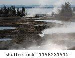 west thumb geyser basin in...   Shutterstock . vector #1198231915
