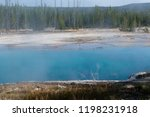 west thumb geyser basin in...   Shutterstock . vector #1198231918