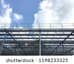 solar collector  heat for solar ... | Shutterstock . vector #1198233325