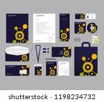 corporate identity set template ... | Shutterstock .eps vector #1198234732