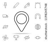 location marker icon. web icons ...
