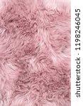 Sheep Fur. Pink Sheepskin Rug...