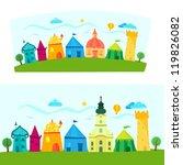 children book illustration with ... | Shutterstock .eps vector #119826082