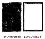 vector grunge backgrounds... | Shutterstock .eps vector #1198295695