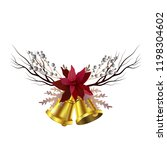 christmas decoration isolated | Shutterstock .eps vector #1198304602