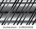 modern white titanium stripes...   Shutterstock .eps vector #1198310338