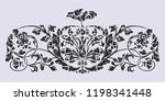 old russian pattern for book.... | Shutterstock .eps vector #1198341448