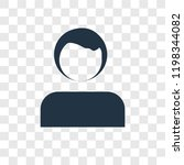 profile vector icon isolated on ...