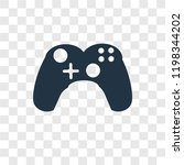 gamepad vector icon isolated on ...