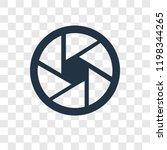 shutter vector icon isolated on ... | Shutterstock .eps vector #1198344265