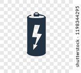 battery vector icon isolated on ...