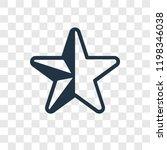 half star full vector icon...