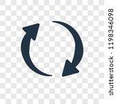 refresh curve arrows vector...