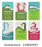 buy your own home  vector... | Shutterstock .eps vector #119834992