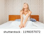 in the morning a young...   Shutterstock . vector #1198357072