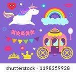 Unicorn And Rainbow Princess...
