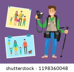 example of cameraman content ... | Shutterstock .eps vector #1198360048