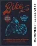 original vector poster. bike...   Shutterstock .eps vector #1198372555