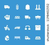 delivery icon. collection of 16 ... | Shutterstock .eps vector #1198402552