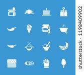 tasty icon. collection of 16... | Shutterstock .eps vector #1198409902