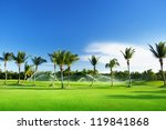 Irrigation Golf Course In...