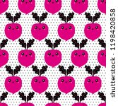 graphic seamless pattern with... | Shutterstock .eps vector #1198420858