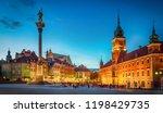 royal castle  ancient... | Shutterstock . vector #1198429735