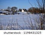 beautiful world. winter... | Shutterstock . vector #1198431325