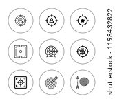 efficiency icon set. collection ... | Shutterstock .eps vector #1198432822