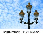 gorgeous vintage style street... | Shutterstock . vector #1198437055