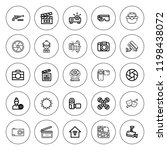 camera icon set. collection of... | Shutterstock .eps vector #1198438072