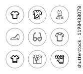 stylish icon set. collection of ...