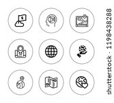 continent icon set. collection...   Shutterstock .eps vector #1198438288