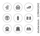 britain icon set. collection of ...   Shutterstock .eps vector #1198441042