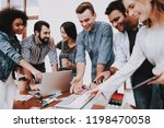 multi ethnic. project. look.... | Shutterstock . vector #1198470058