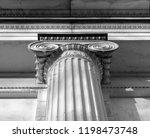 ionian column capital... | Shutterstock . vector #1198473748