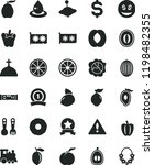 solid black flat icon set... | Shutterstock .eps vector #1198482355