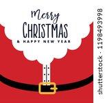 red santa claus suit  black...