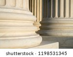 white marble neoclassical... | Shutterstock . vector #1198531345
