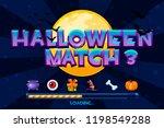 halloween match3 on night...