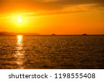beautiful landscape. sunset...   Shutterstock . vector #1198555408